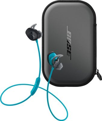 Bose SoundSport Wireless Headphones + SoundSport Charging Case Aqua - Bose Headphones & Speakers