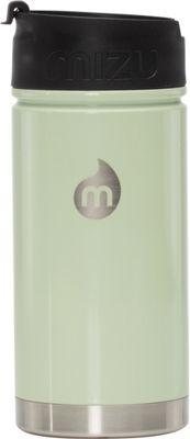 Mizu Inc V5 Water Bottle with Coffee Lid Glossy Seafoam - Mizu Inc Hydration Packs and Bottles