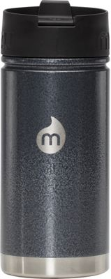 Mizu V5 Water Bottle with Coffee Lid Gray Hammer Paint - Mizu Hydration Packs and Bottles