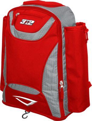 3N2 Revo Bat Bag Backpack Red - 3N2 Gym Bags