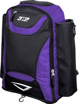 3N2 Revo Bat Bag Backpack Purple - 3N2 Gym Bags