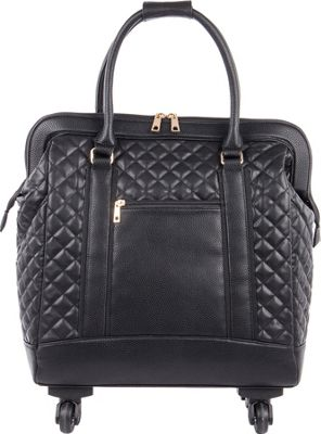 Bugatti Monica Ladies Wheeled Business Bag Black - Bugatti Wheeled Business Cases