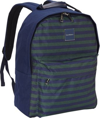 Isaac Mizrahi Ingram Classic Laptop Backpack Green - Isaac Mizrahi Laptop Backpacks