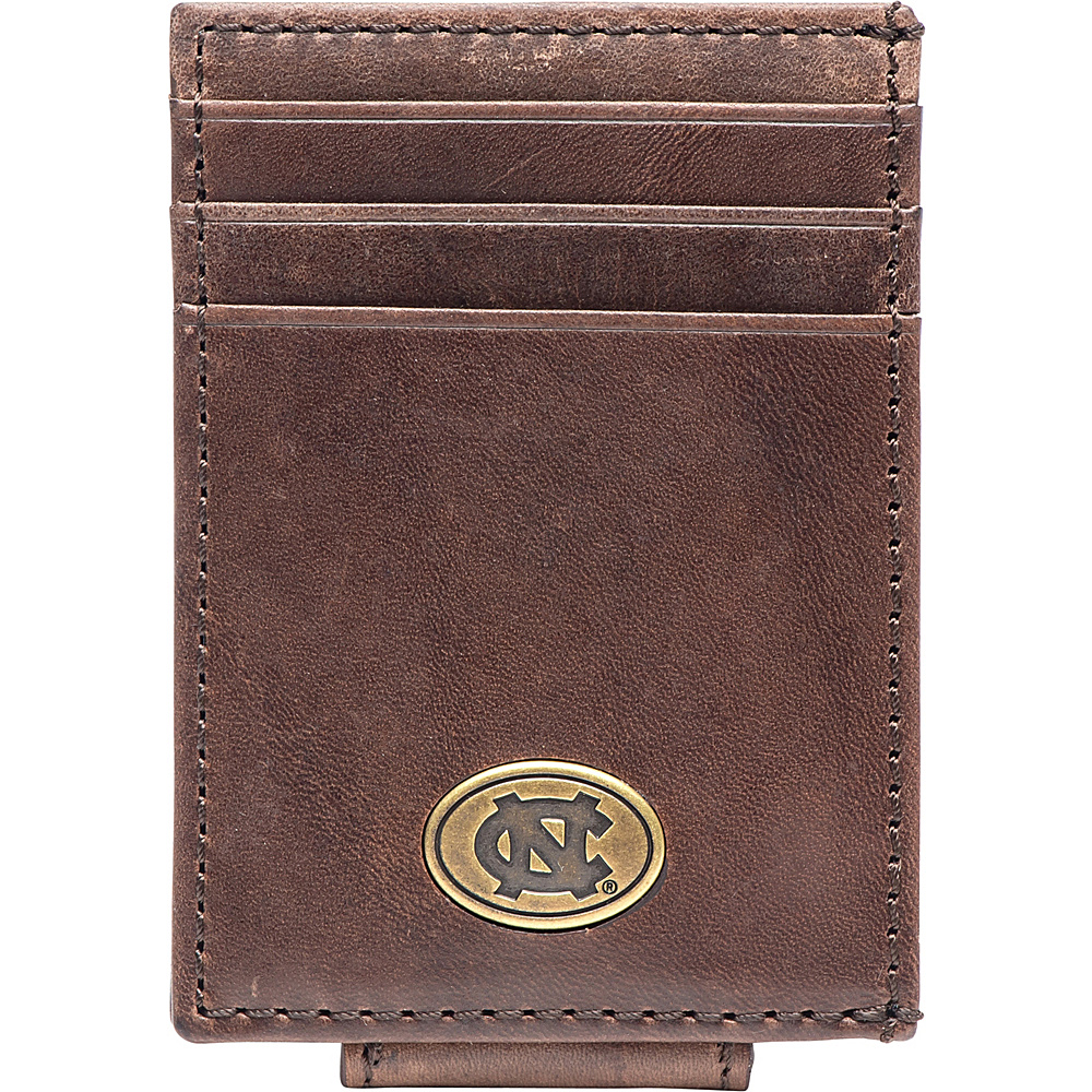 Jack Mason League NCAA Legacy Magnetic Front Pocket Wallet North Carolina - Jack Mason League Mens Wallets - Work Bags & Briefcases, Men's Wallets