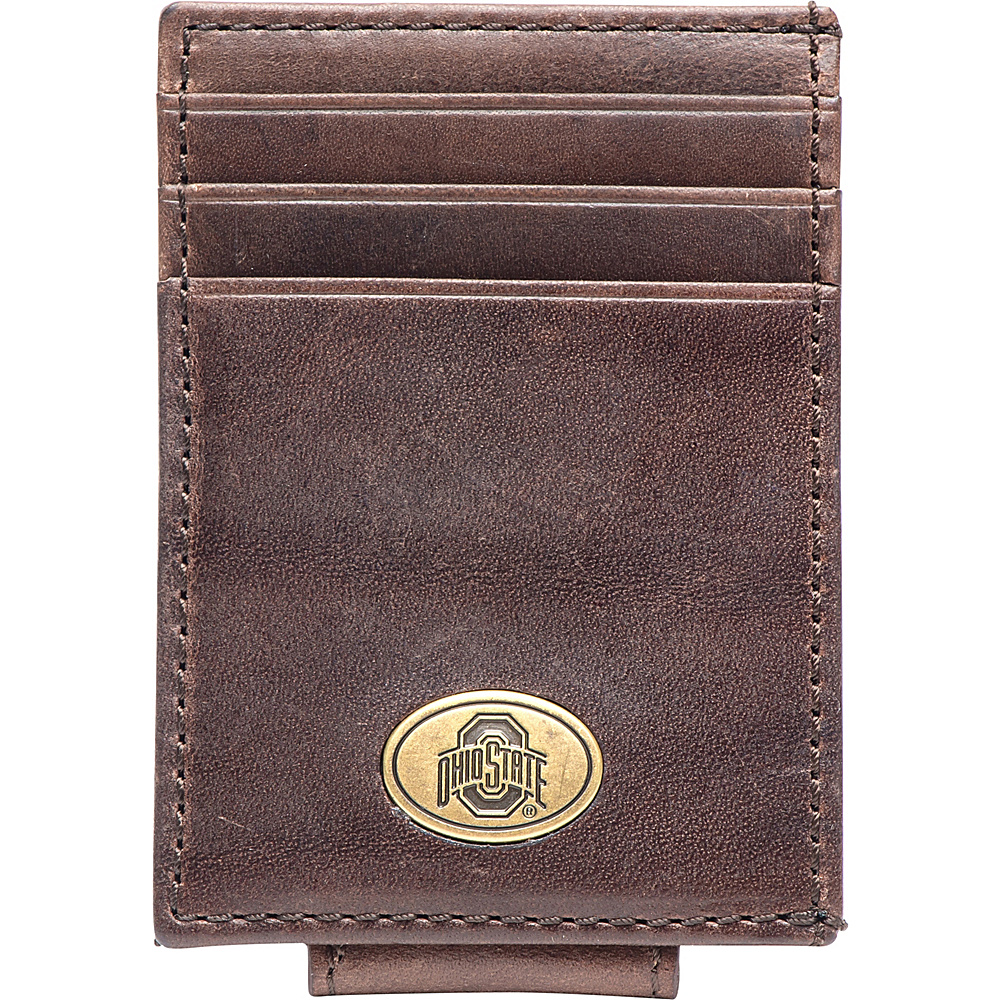 Jack Mason League NCAA Legacy Magnetic Front Pocket Wallet Ohio State - Jack Mason League Mens Wallets - Work Bags & Briefcases, Men's Wallets