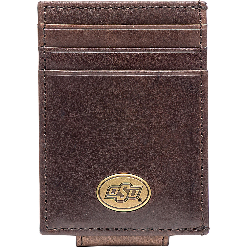 Jack Mason League NCAA Legacy Magnetic Front Pocket Wallet Oklahoma State - Jack Mason League Mens Wallets - Work Bags & Briefcases, Men's Wallets