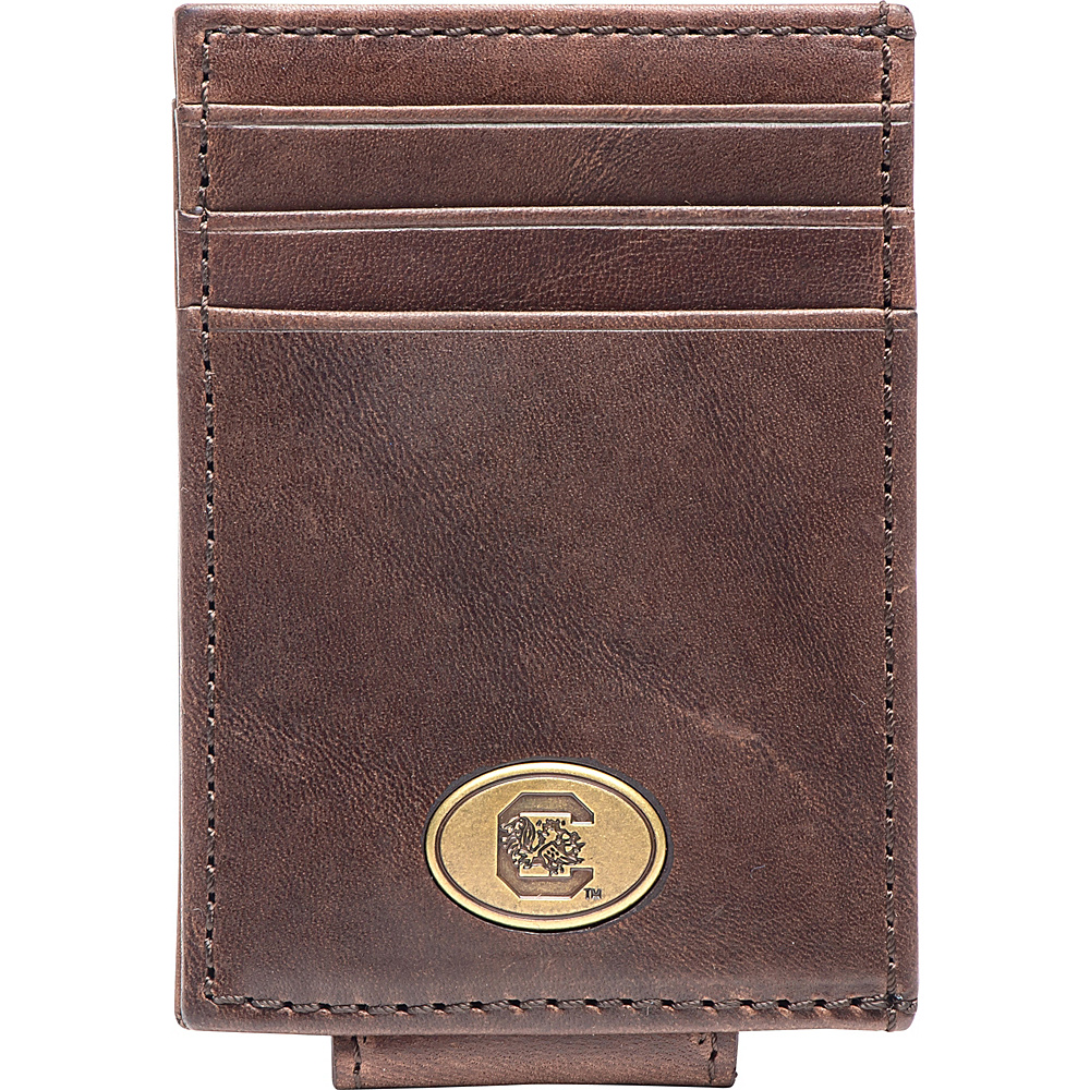Jack Mason League NCAA Legacy Magnetic Front Pocket Wallet South Carolina - Jack Mason League Mens Wallets - Work Bags & Briefcases, Men's Wallets