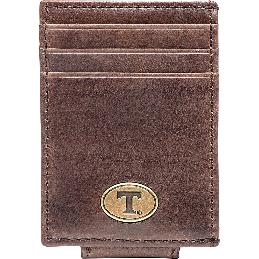 Jack Mason League NCAA Legacy Magnetic Front Pocket Wallet Tennessee - Jack Mason League Mens Wallets - Work Bags & Briefcases, Men's Wallets