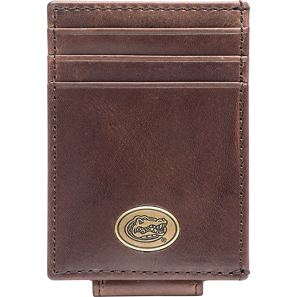 Jack Mason League NCAA Legacy Magnetic Front Pocket Wallet Florida - Jack Mason League Mens Wallets - Work Bags & Briefcases, Men's Wallets