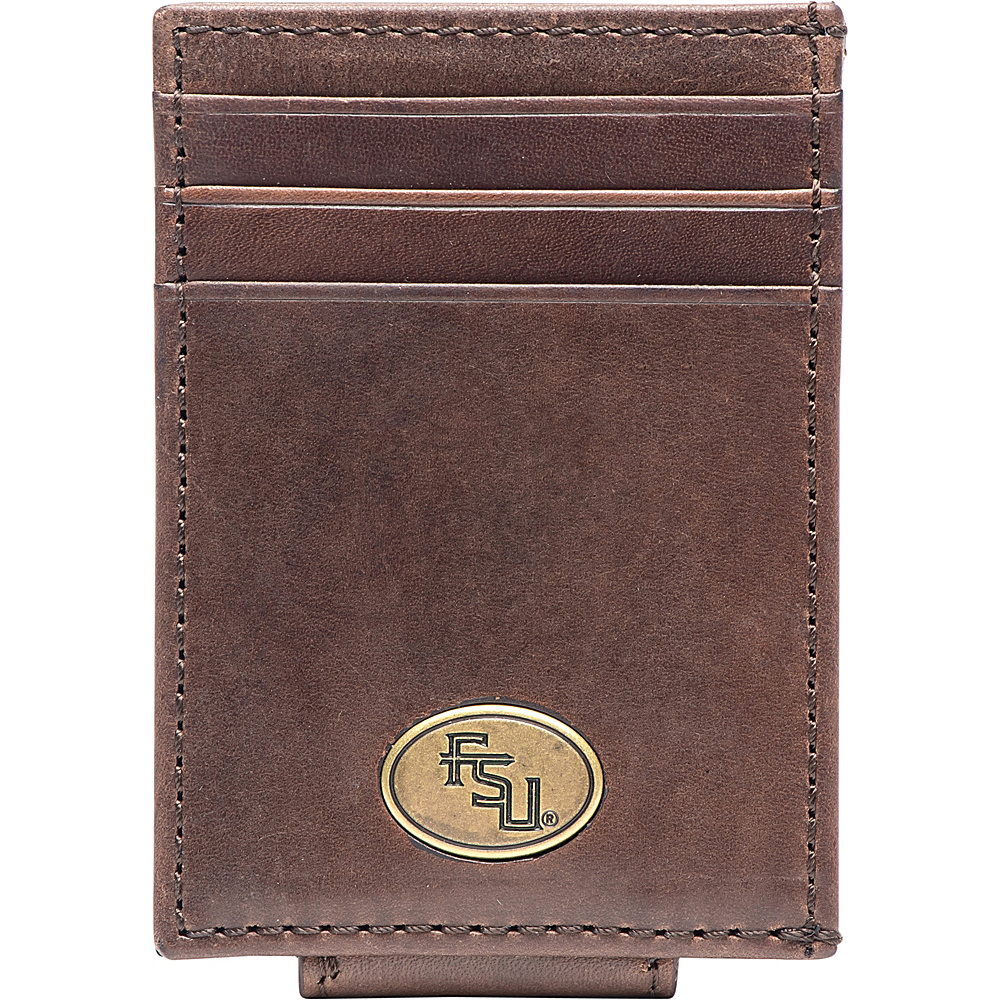 Jack Mason League NCAA Legacy Magnetic Front Pocket Wallet Florida State - Jack Mason League Mens Wallets - Work Bags & Briefcases, Men's Wallets