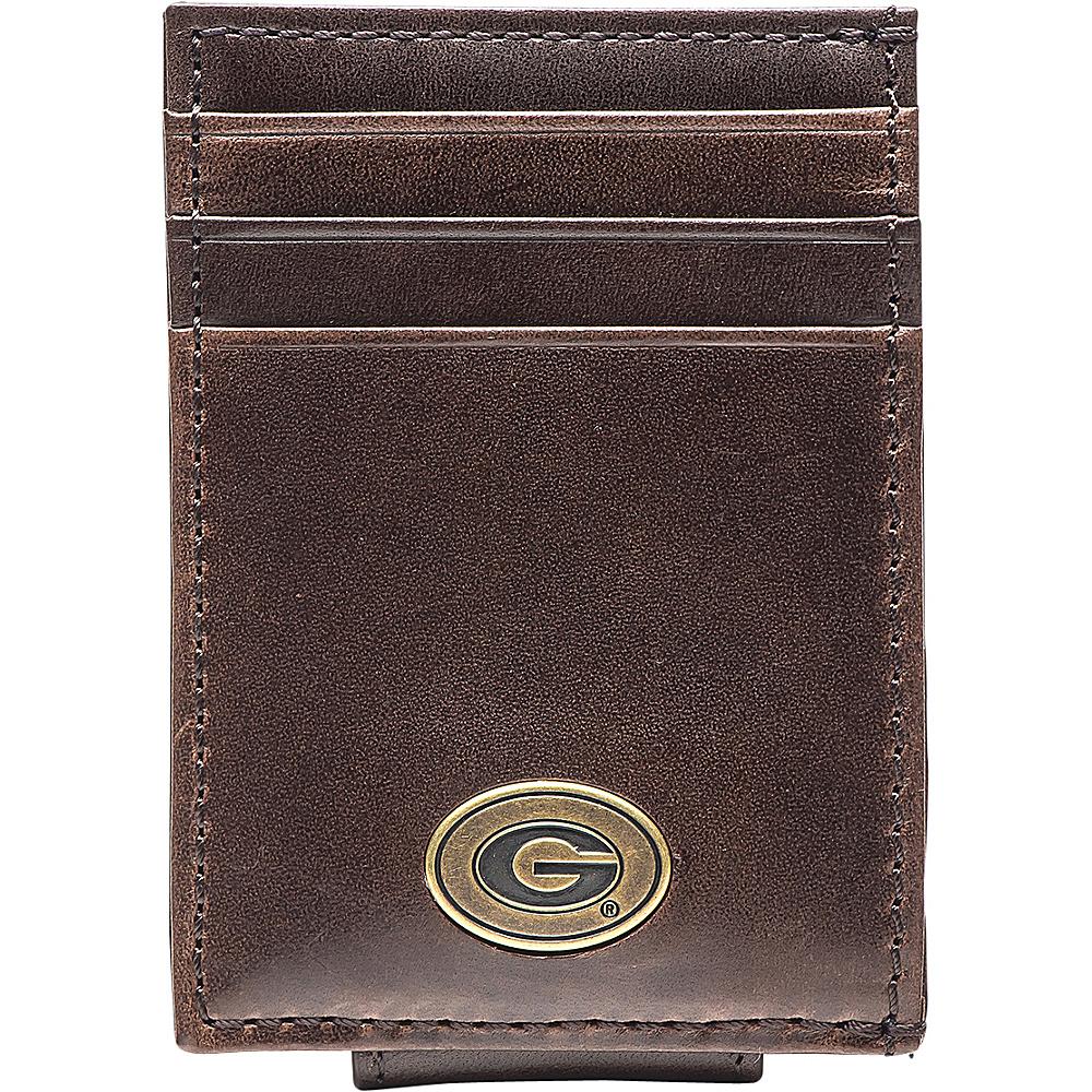 Jack Mason League NCAA Legacy Magnetic Front Pocket Wallet Georgia - Jack Mason League Mens Wallets - Work Bags & Briefcases, Men's Wallets