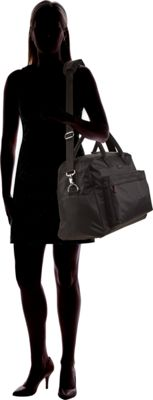 Vera Bradley Perfect Companion Travel Bag - Solids Black - Vera Bradley Luggage Totes and Satchels