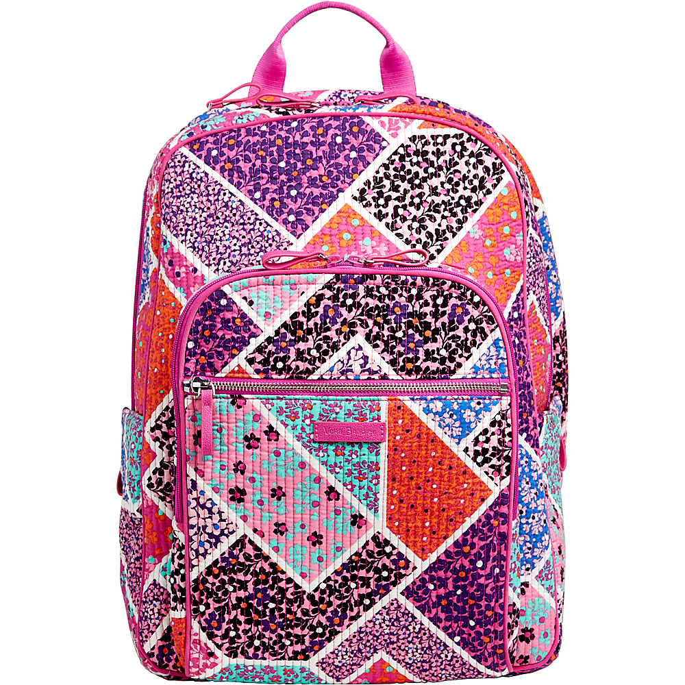 Vera Bradley Iconic Deluxe Campus Backpack Modern Medley - Vera Bradley School & Day Hiking Backpacks - Backpacks, School & Day Hiking Backpacks