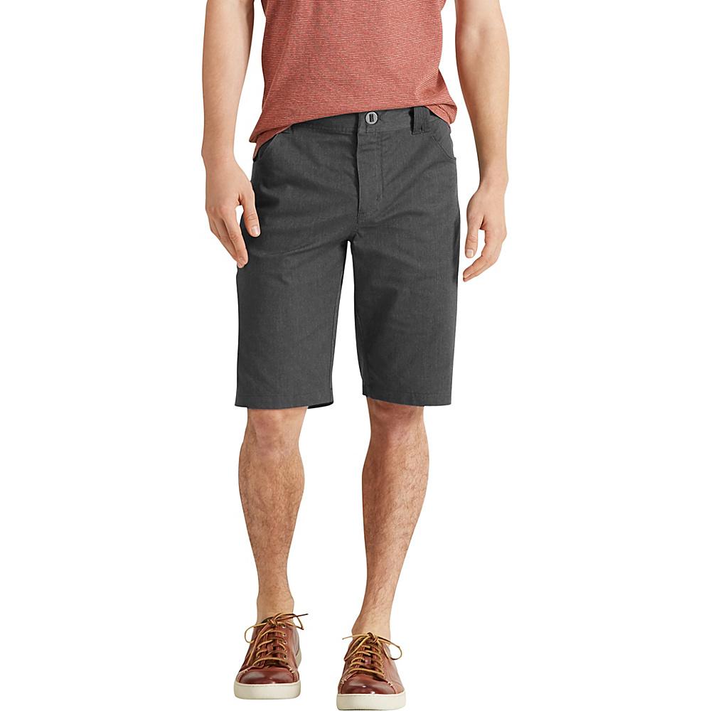 NAU Clothing Mens Stretch 5 Pocket Motil Short 28 - Caviar Heather - NAU Clothing Mens Apparel - Apparel & Footwear, Men's Apparel