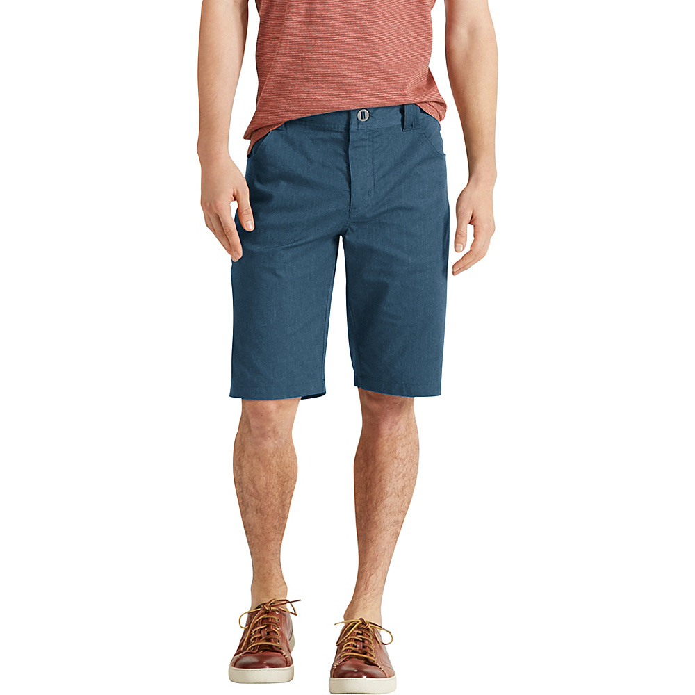 NAU Clothing Mens Stretch 5 Pocket Motil Short 28 - Space Heather - NAU Clothing Mens Apparel - Apparel & Footwear, Men's Apparel