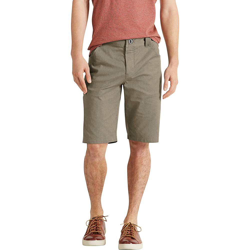 NAU Clothing Mens Stretch 5 Pocket Motil Short 38 - Vetiver Heather - NAU Clothing Mens Apparel - Apparel & Footwear, Men's Apparel