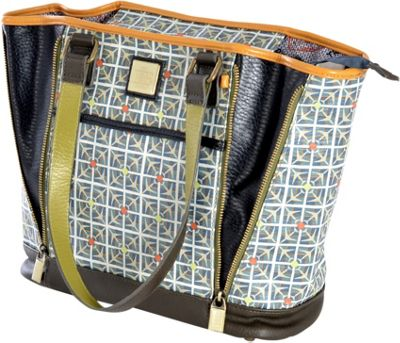 Inky & Bozko Day Tripper Large Zipper Tote Day Tripper - Inky & Bozko Leather Handbags