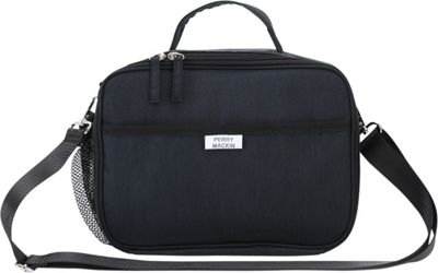 Perry Mackin Charlie Lunch Bag Black - Perry Mackin Travel Coolers