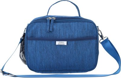 Perry Mackin Charlie Lunch Bag Blue - Perry Mackin Travel Coolers