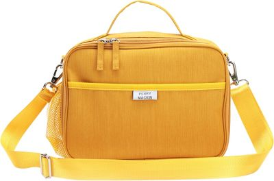 Perry Mackin Charlie Lunch Bag Mustard - Perry Mackin Travel Coolers