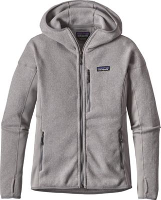 Patagonia Womens Performance Better Sweater Hoody M - Drifter Grey - Patagonia Women's Apparel