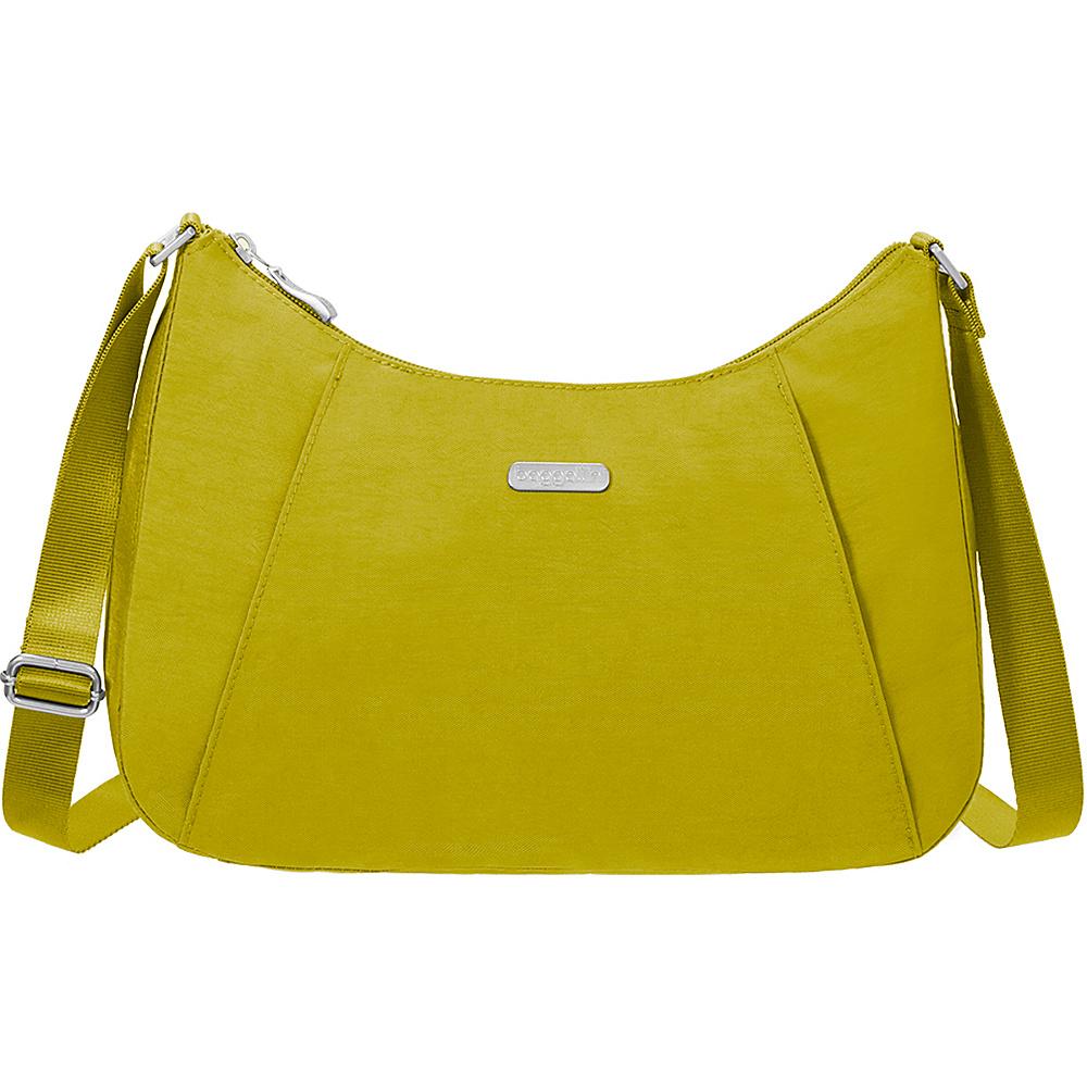 baggallini Slim Crossbody Hobo - Retired Colors Kiwi - baggallini Fabric Handbags - Handbags, Fabric Handbags