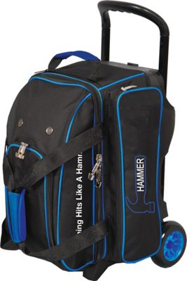 Hammer Signature Double Bowling Roller Royal - Hammer Bowling Bags