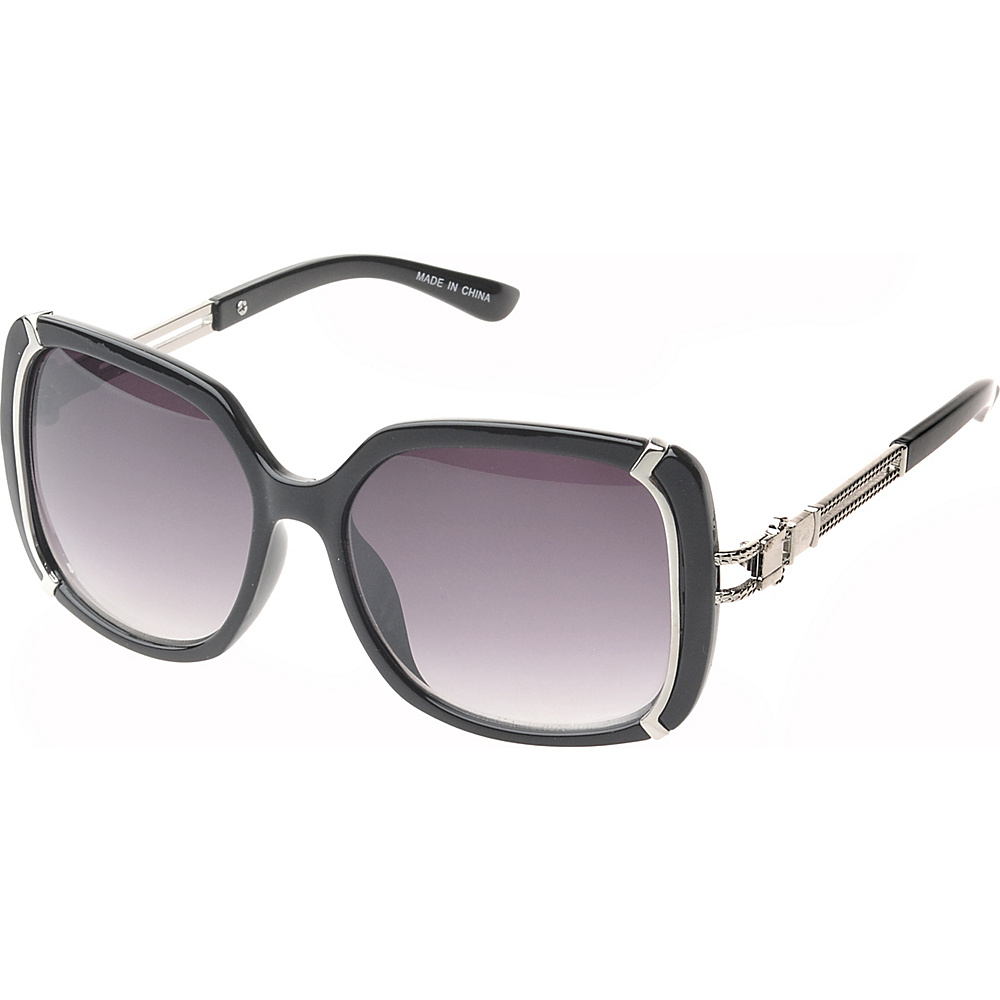 SW Global Ammityville Square Fashion Sunglasses Black - SW Global Eyewear - Fashion Accessories, Eyewear