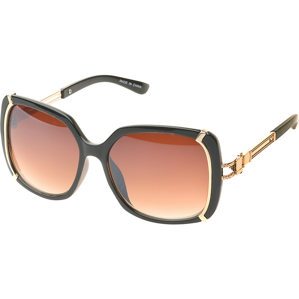 SW Global Ammityville Square Fashion Sunglasses Brown - SW Global Eyewear - Fashion Accessories, Eyewear