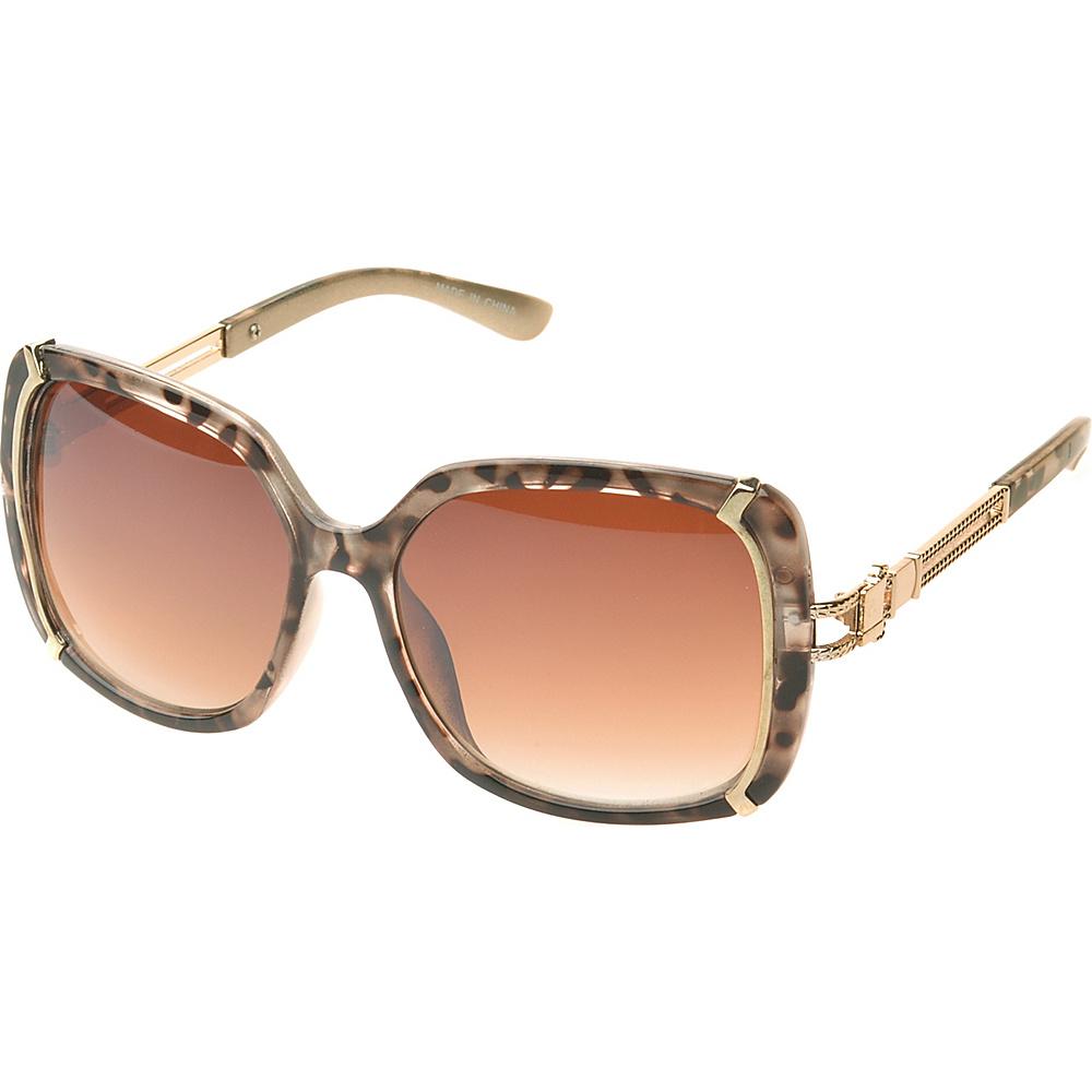 SW Global Ammityville Square Fashion Sunglasses Light-Leopard - SW Global Eyewear - Fashion Accessories, Eyewear