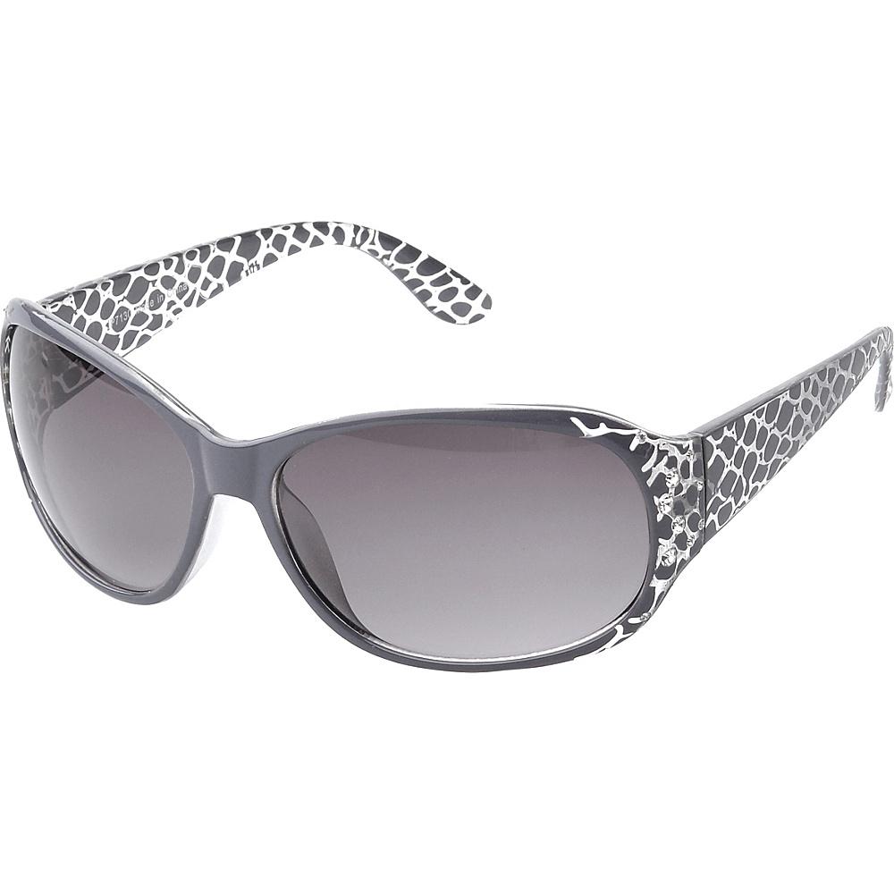 SW Global Keanna Rhinestone Sdded Rectangle Fashion Sunglasses Grey - SW Global Eyewear - Fashion Accessories, Eyewear