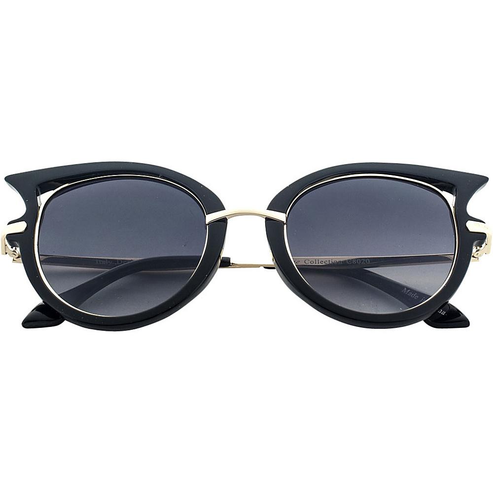 SW Global Designer High Fashion Winged Tip UV400 Sunglasses Black - SW Global Eyewear - Fashion Accessories, Eyewear