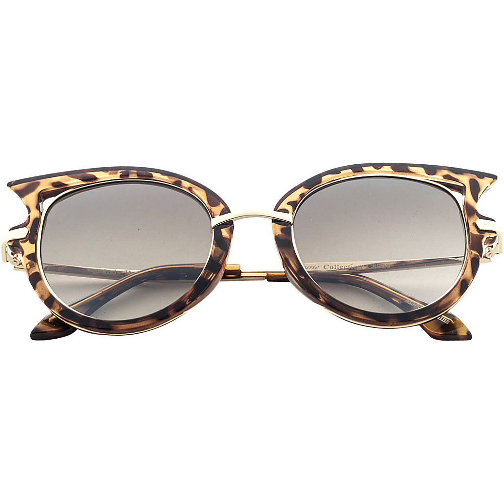 SW Global Designer High Fashion Winged Tip UV400 Sunglasses Brown - SW Global Eyewear - Fashion Accessories, Eyewear