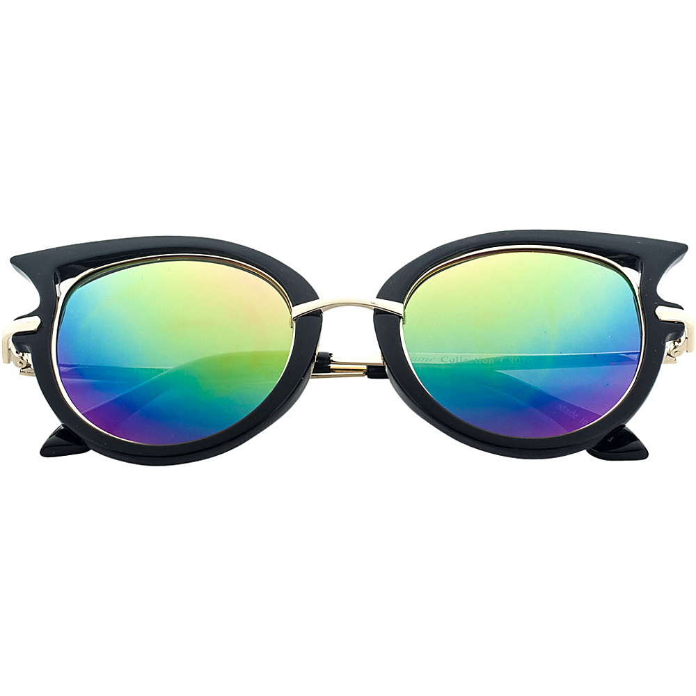 SW Global Designer High Fashion Winged Tip UV400 Sunglasses Multi-Color - SW Global Eyewear - Fashion Accessories, Eyewear