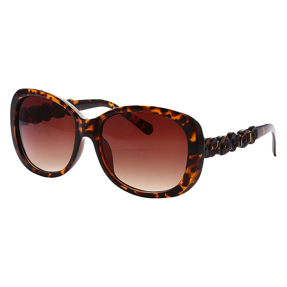 SW Global Womens Manhattan Oversized Elegant Fashion Sunglasses Leopard - SW Global Eyewear - Fashion Accessories, Eyewear