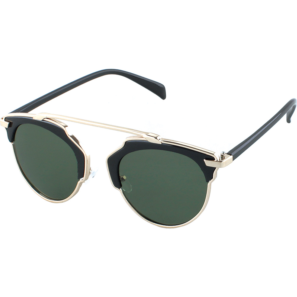 SW Global Womens Urban Street Fashion Uni brow Top Bar Sunglasses Smoke - SW Global Eyewear - Fashion Accessories, Eyewear