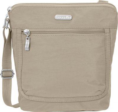 baggallini Pocket Medium Crossbody Beach - baggallini Fabric Handbags