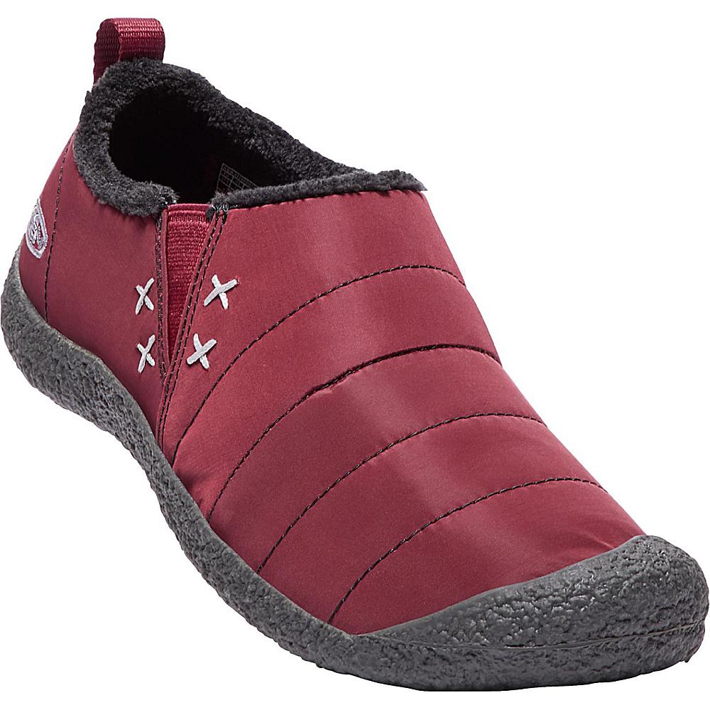 KEEN Womens Howser II Slip-On 9 - Zinfandel - KEEN Womens Footwear - Apparel & Footwear, Women's Footwear