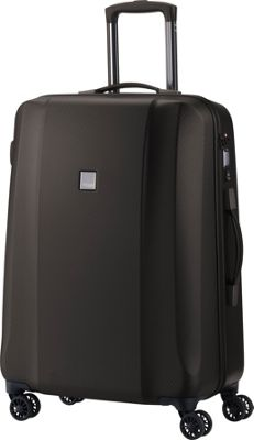 Titan Bags Xenon Deluxe 28 inch Expandable Hardside Checked Spinner Luggage Brown - Titan Bags Large Rolling Luggage
