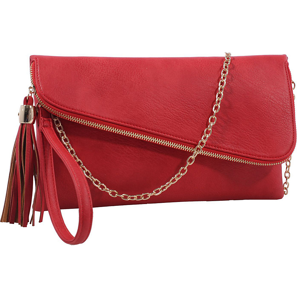 MKF Collection by Mia K. Farrow Lexy Convertible Wristlet/Crossbody Red - MKF Collection by Mia K. Farrow Manmade Handbags - Handbags, Manmade Handbags