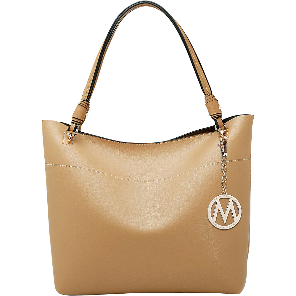 MKF Collection by Mia K. Farrow Pilar Tote Apricot - MKF Collection by Mia K. Farrow Manmade Handbags - Handbags, Manmade Handbags