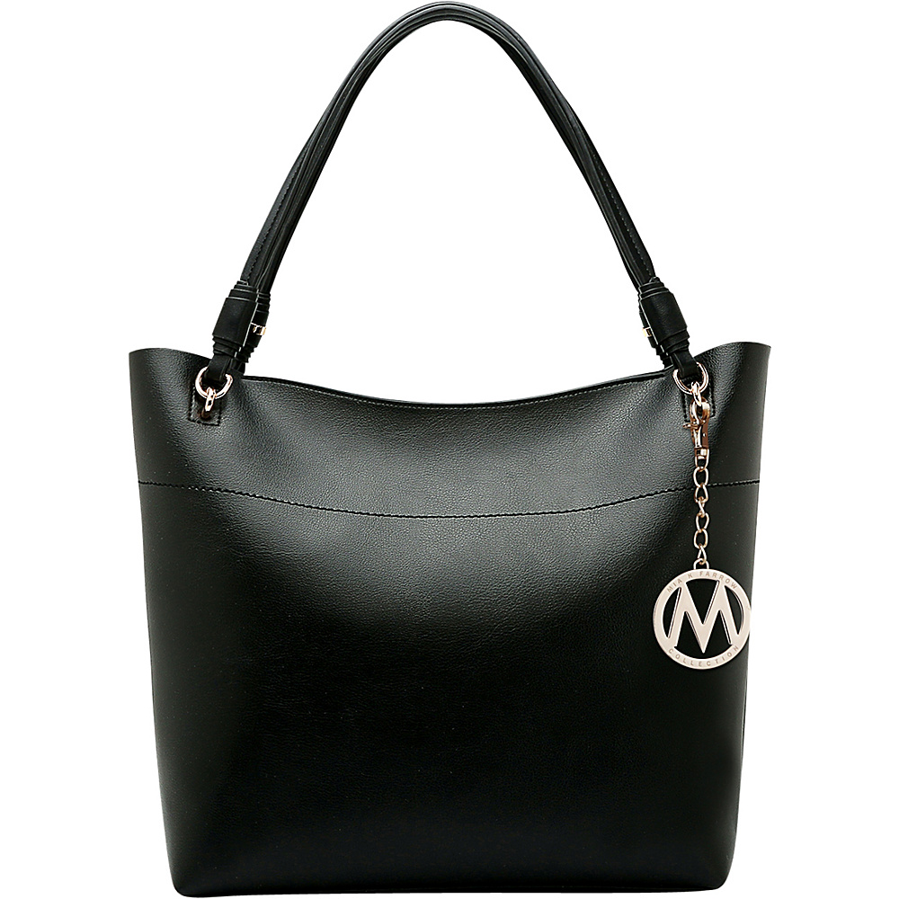 MKF Collection by Mia K. Farrow Pilar Tote Black - MKF Collection by Mia K. Farrow Manmade Handbags - Handbags, Manmade Handbags