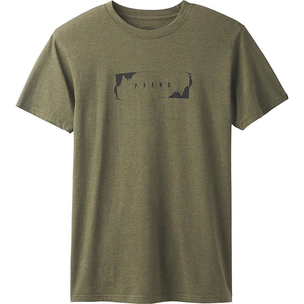 PrAna Block T-Shirt XL - Cargo Green - PrAna Mens Apparel - Apparel & Footwear, Men's Apparel
