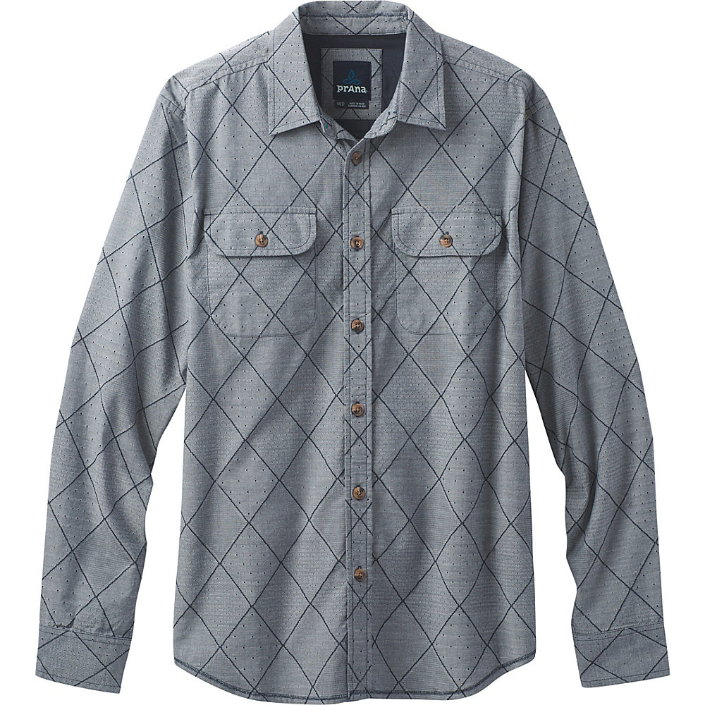 PrAna Rennin Shirt S - Nautical - PrAna Mens Apparel - Apparel & Footwear, Men's Apparel