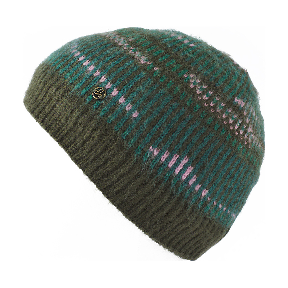 PrAna Hahna Beanie One Size - Dark Olive - PrAna Hats - Fashion Accessories, Hats