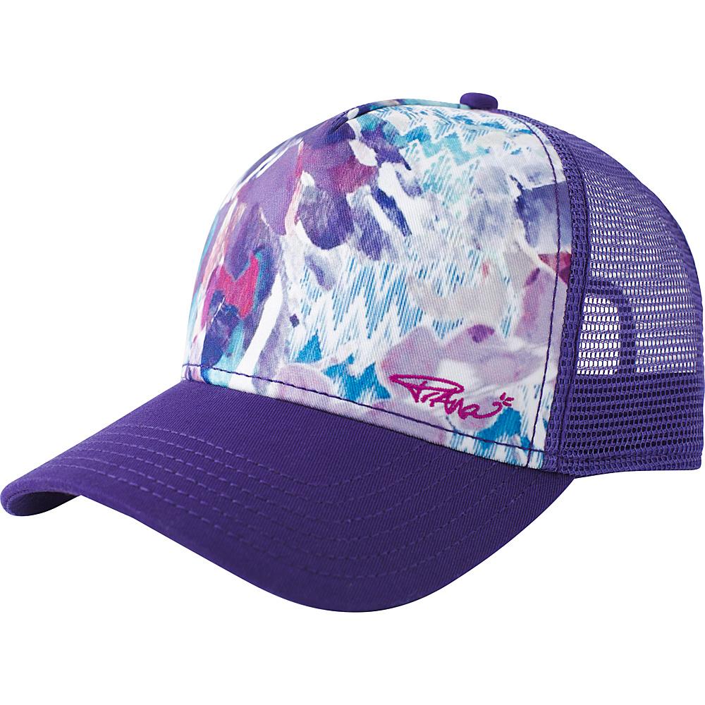 PrAna La Viva Trucker One Size - Sangria Garden - PrAna Hats - Fashion Accessories, Hats