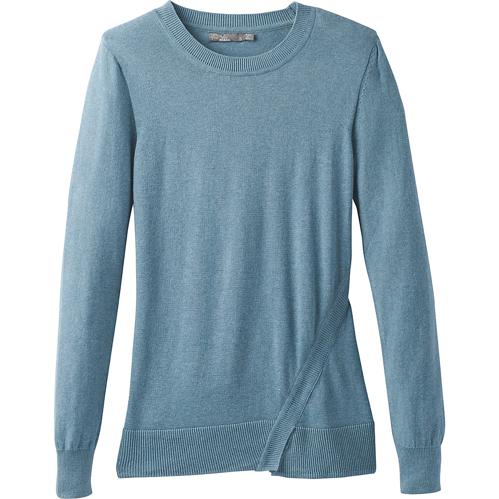 PrAna Ansleigh Sweater M - Bayou Blue - PrAna Womens Apparel - Apparel & Footwear, Women's Apparel