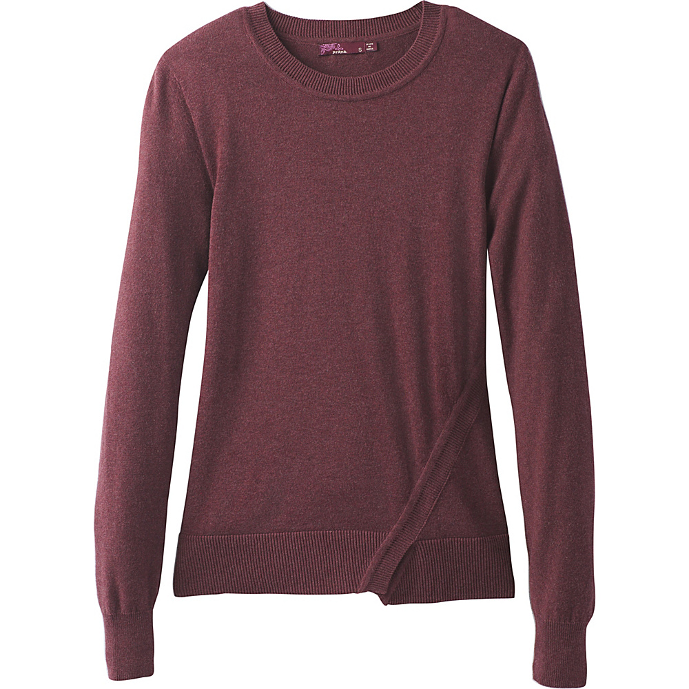 PrAna Ansleigh Sweater XS - Nocturnal Red - PrAna Womens Apparel - Apparel & Footwear, Women's Apparel