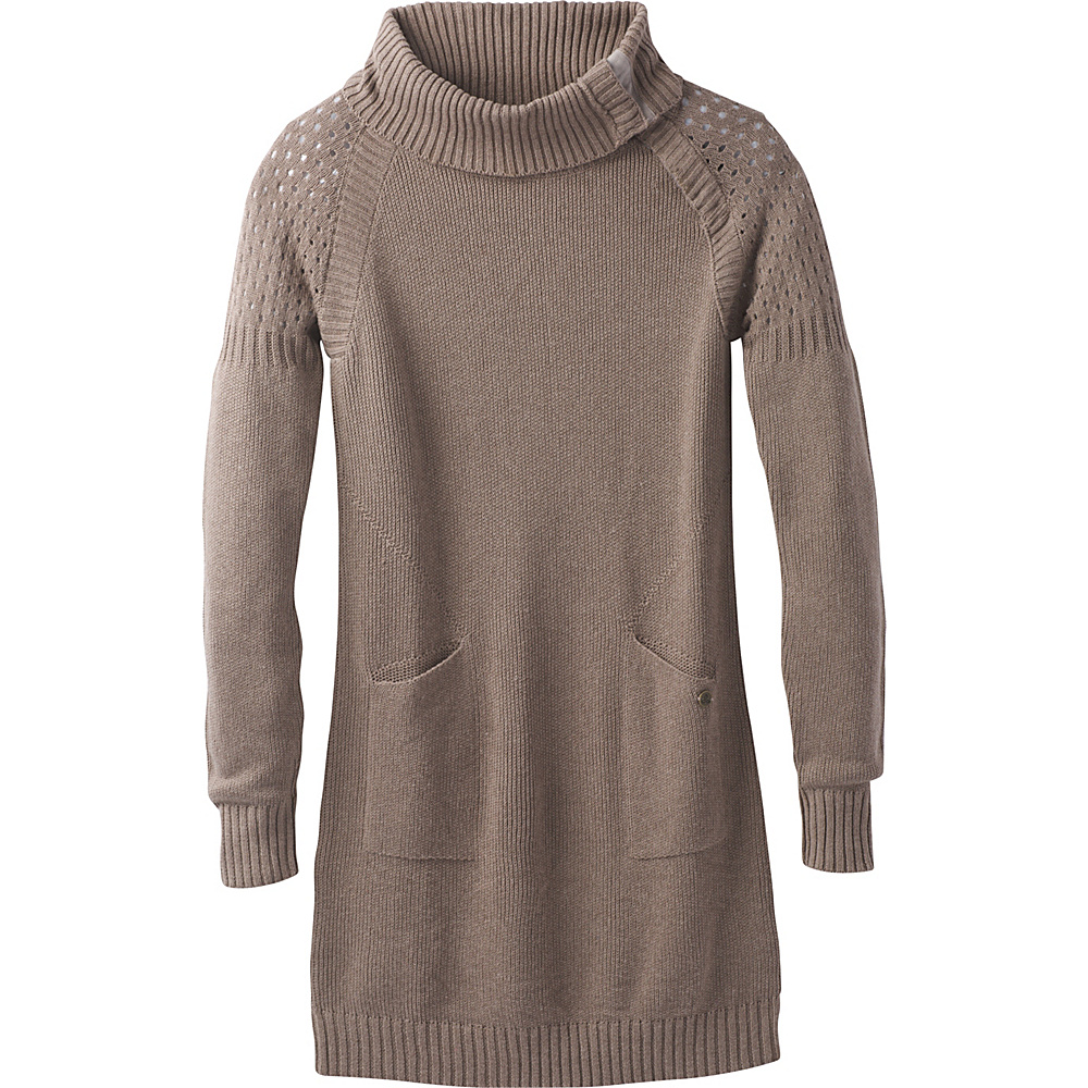 PrAna Archer Dress S - Earth Grey - PrAna Womens Apparel - Apparel & Footwear, Women's Apparel