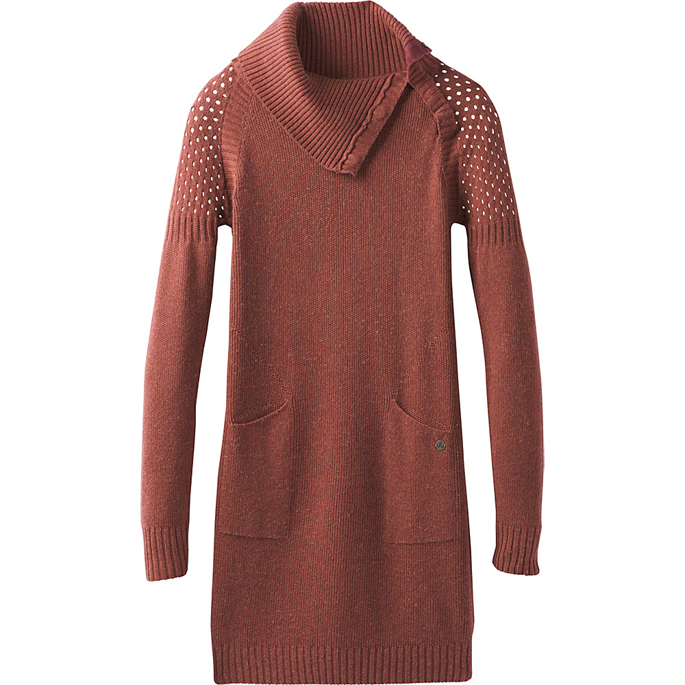 PrAna Archer Dress L - Red Umber - PrAna Womens Apparel - Apparel & Footwear, Women's Apparel